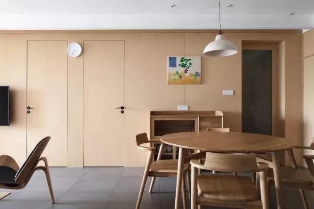 134㎡超佛日式风格三居室装修,拥有一个温馨舒适的家竟如此简单!