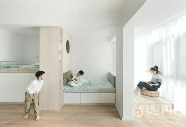 一家4口把59㎡住成大房子:收纳强大,连日本主妇都自愧不如