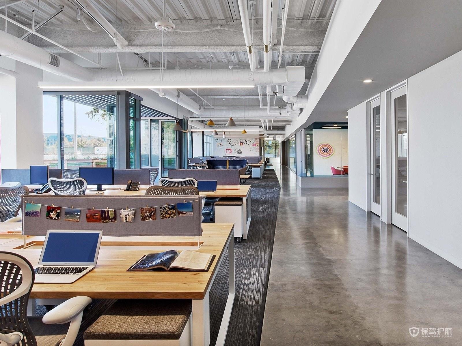 长方形办公室怎么设计布局?-办公室装修