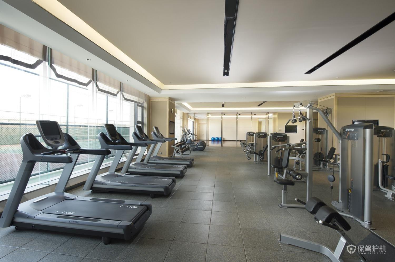 地下室做健身房要注意什么?地下健身房装修效果图