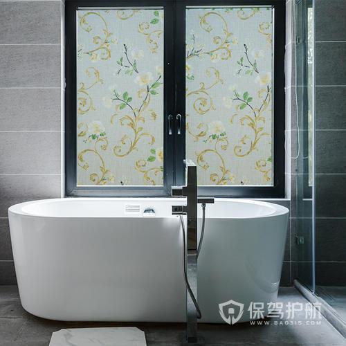 卫生间玻璃贴膜怎么贴?卫生间玻璃贴膜哪种好?