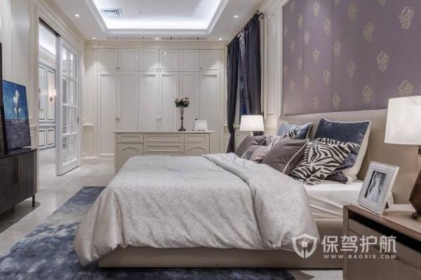 卧室设计效果图-保驾护航装修网