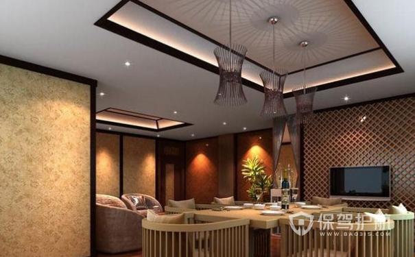 咖啡厅天花板适合高度?咖啡厅吊顶怎么装修?