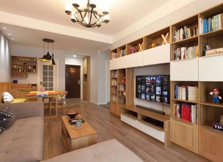 客厅没有电视墙设计方案 客厅不做电视墙效果图