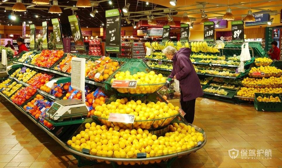 现代简约附加型水果店装修风格