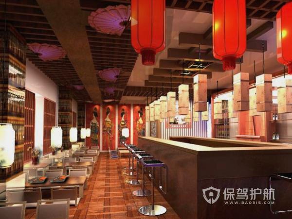 日式快餐店怎么设计?日式快餐店设计攻略