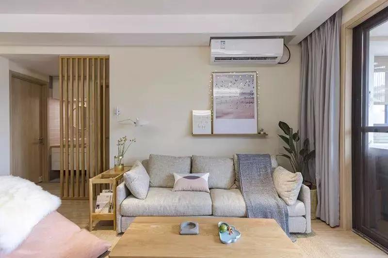 110㎡日式三室两厅装修设计,温暖,才是一个家该有的样子!