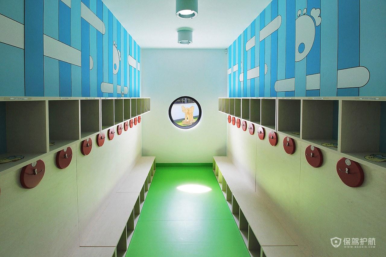 幼儿园更衣室装修效果图