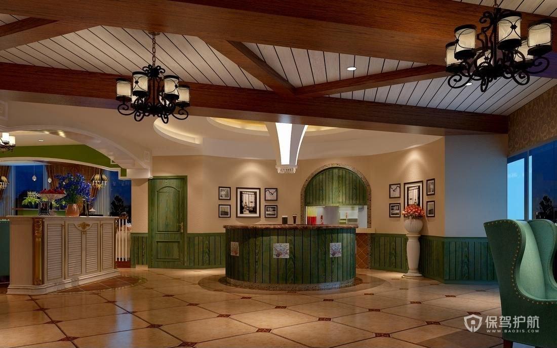 东南亚特色餐厅装修效果图