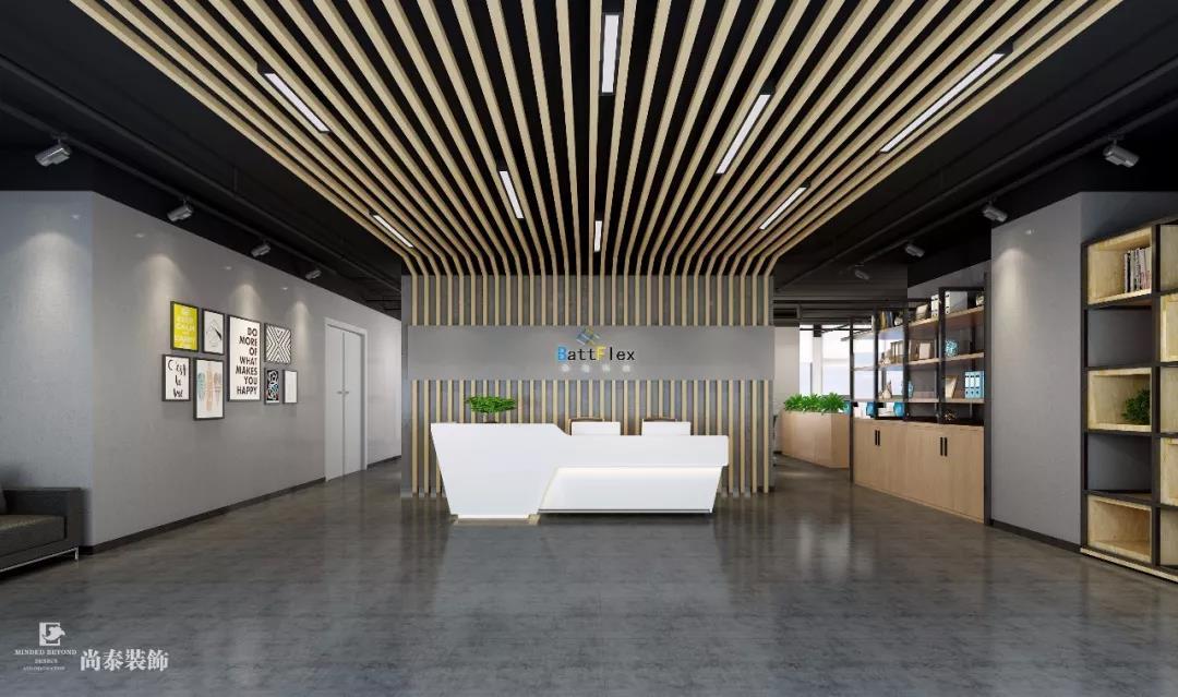 700㎡工业休闲办公室设计,彰显柔性电力科技企业的独特魅力