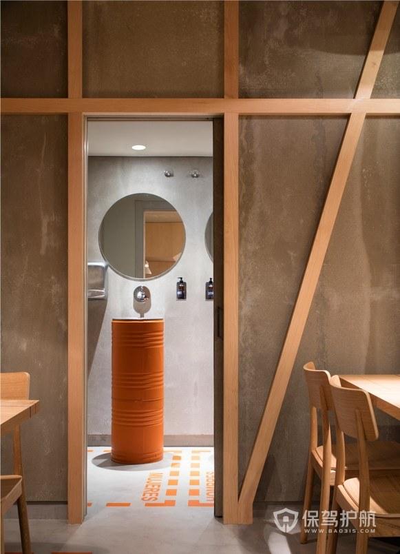 日式咖啡館衛生間裝修效果圖