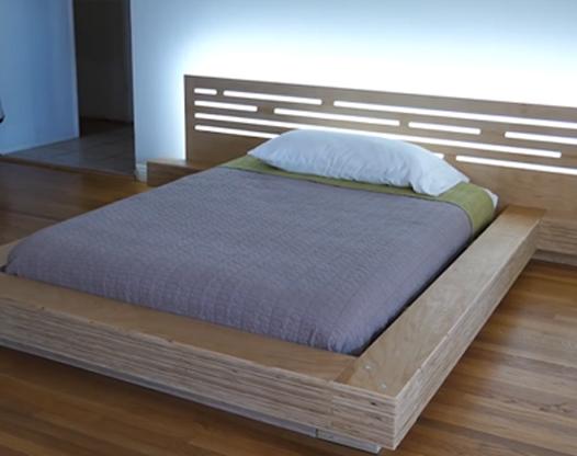 自制生态板木床