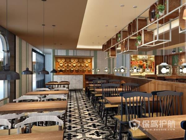 港式茶餐厅设计攻略 港式茶餐厅设计效果图