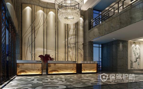 酒店大堂设计装修效果图