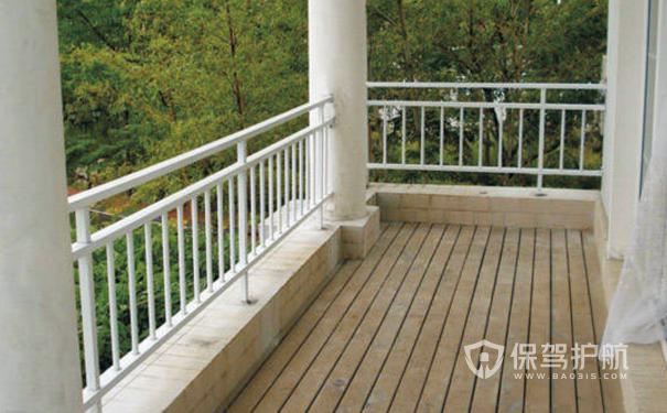 阳台防护栏哪种好?阳台防护栏装修效果图