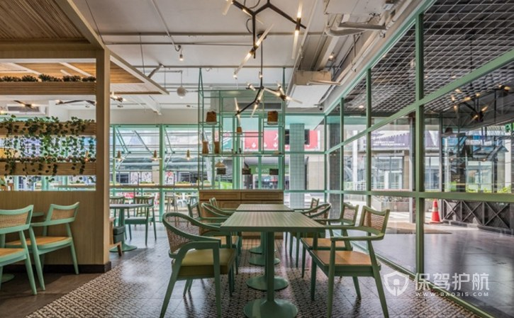 美式小清新咖啡厅装修效果图