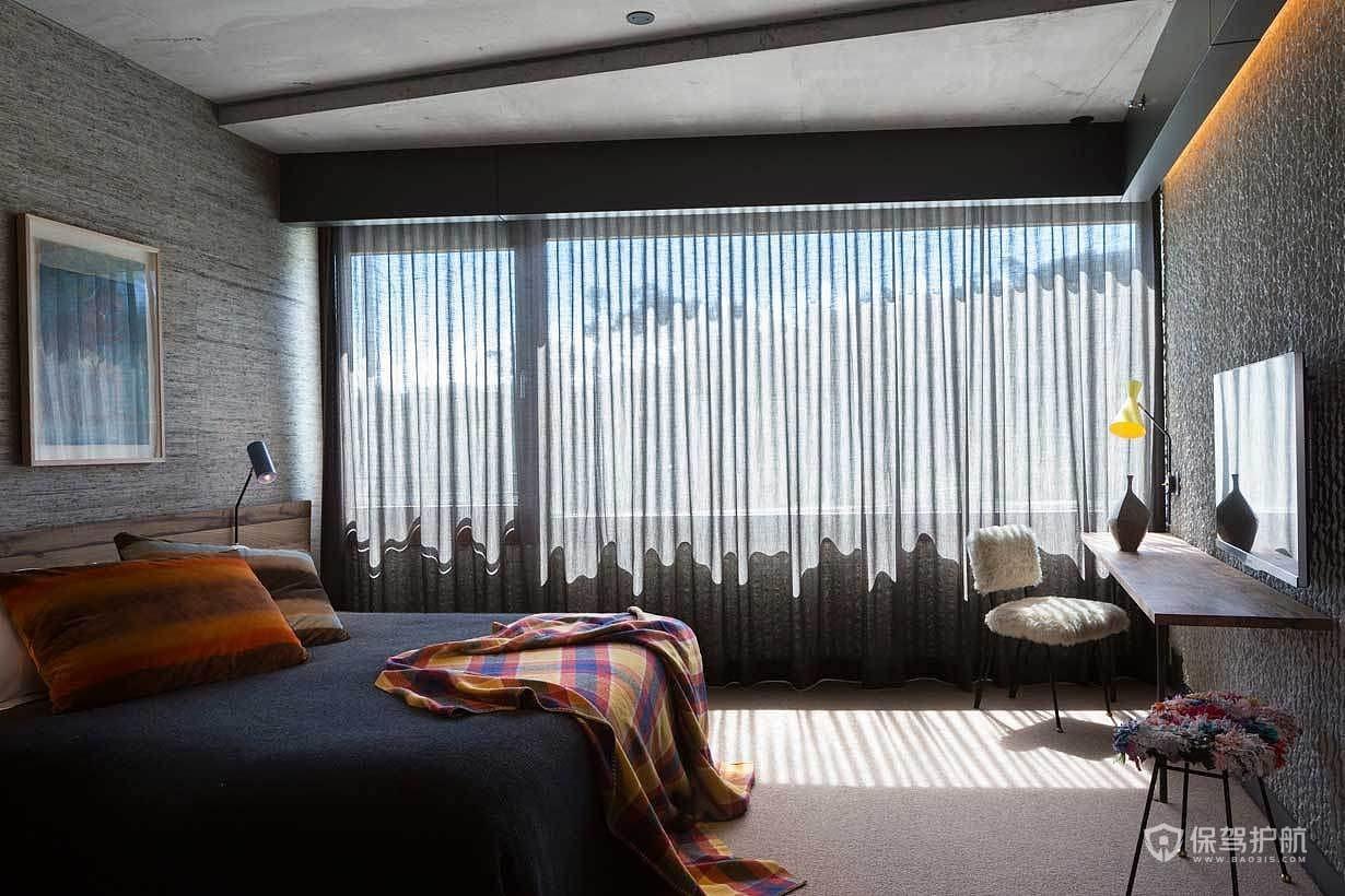 简约舒适酒店客房装修效果图