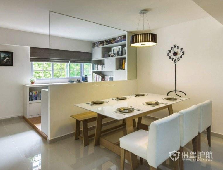 厨房与餐厅的隔断如何设计? 厨房装修隔断造型图