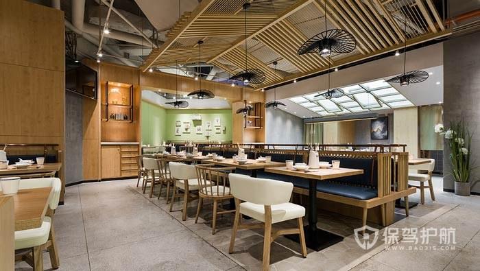 东南亚风情餐厅装修实景图