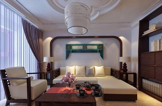 两居室中式风格实景房屋装修效果图