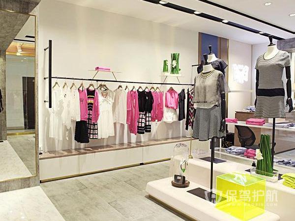 个性女性服装店装修效果图