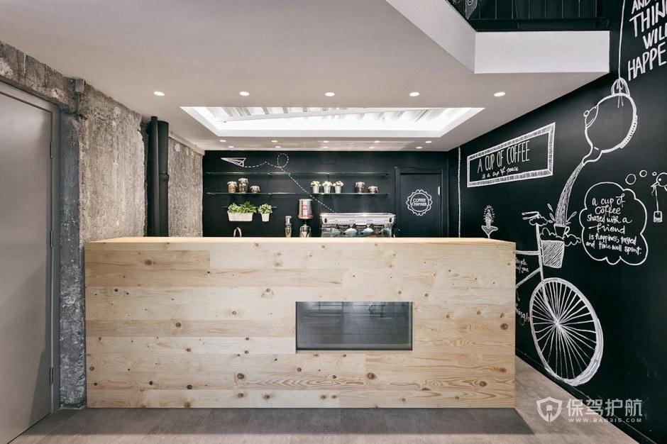 简约咖啡馆操作台装修图片