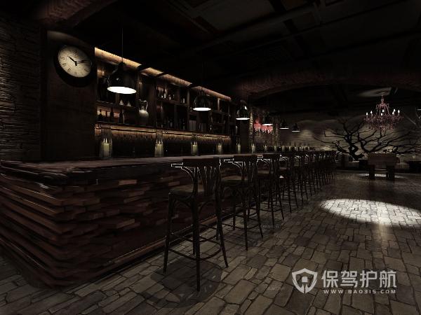 混搭风格酒吧装修设计效果图