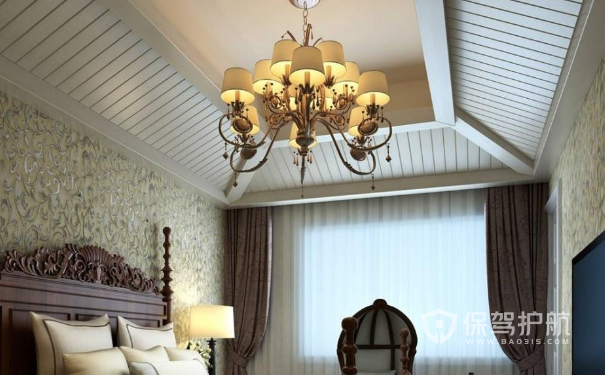 卧室可以装吊灯吗?卧室灯饰装修效果图