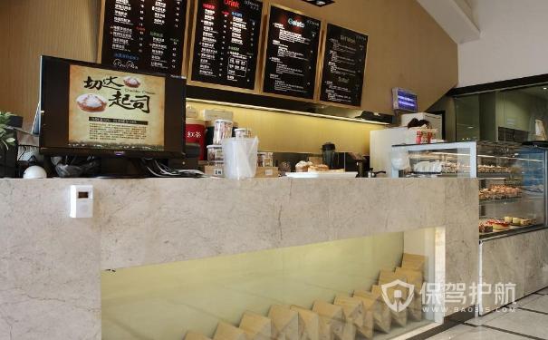 蛋糕店收银台设计