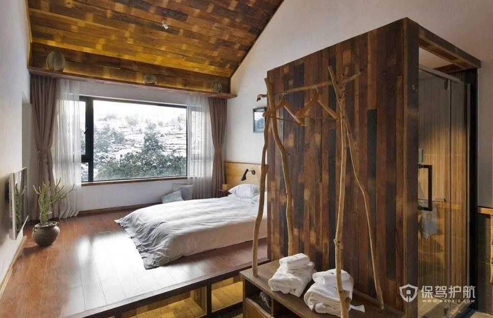 日式创意民宿装修效果图