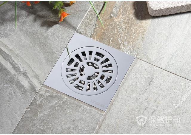 淋浴房地漏安装在什么位置合适?淋浴房地漏怎么安装?