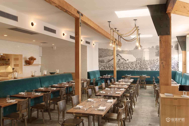 2019西餐厅设计效果图