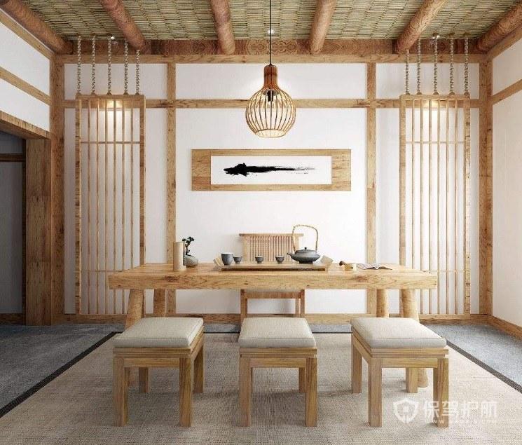 日式古典民宿装修效果图