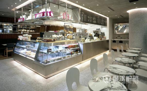 甜品店装修效果图