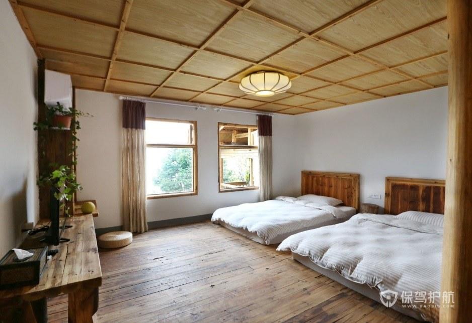 日式臥室民宿裝修效果圖