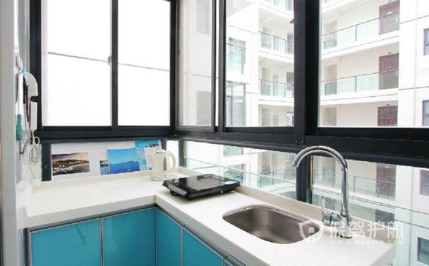 厨房阳台一体怎么装修?厨房阳台一体装修效果图