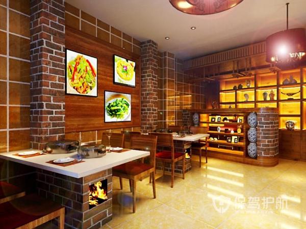 特色菜馆装修风格有哪些 特色菜馆装修风格选择