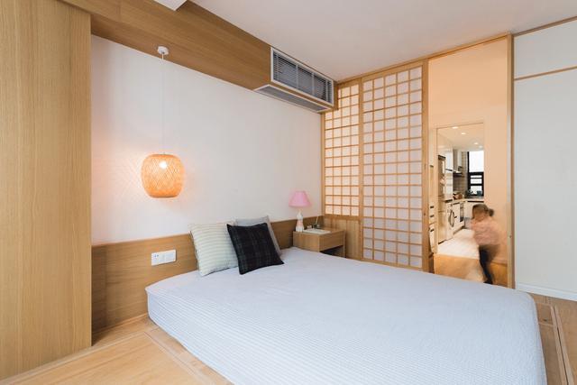 34㎡小户型旧房装修改造成二房,能住3代人,浴室还有4分离,什么神仙改造?