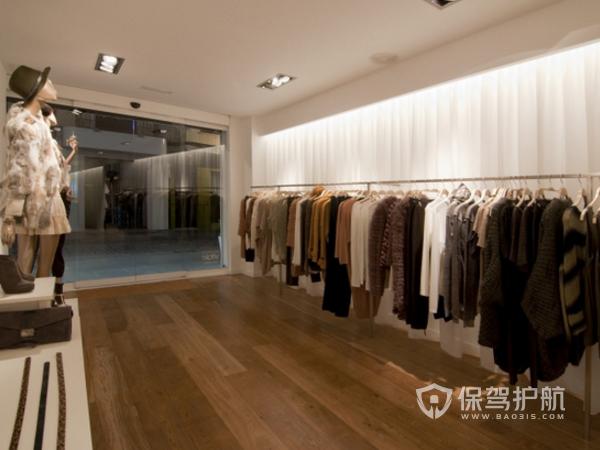 时尚女性服装店装修设计效果图