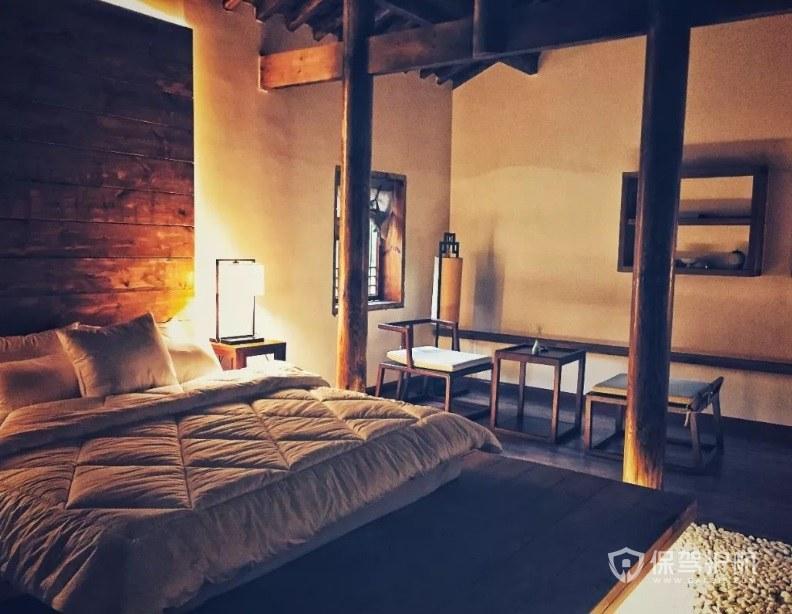 欧式复式民宿卧室装修效果图