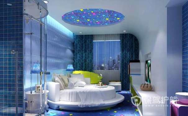 梦想星空主题酒店装修设计
