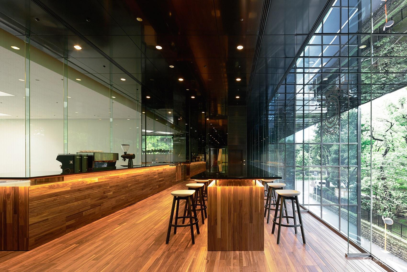 大气奢华咖啡馆操作台设计图