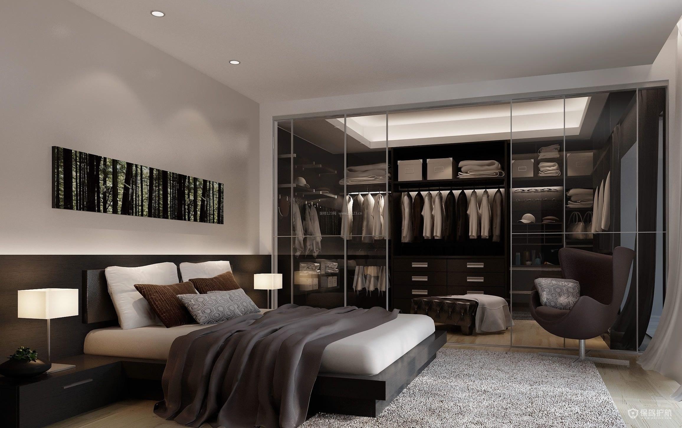 卧室定制衣柜效果图-保驾护航装修网