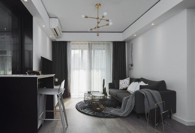 上海60㎡蜗居却能住3代人,巧用十组柜体,让卧室面积远超大户型