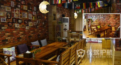 美式咖啡屋装修效果图