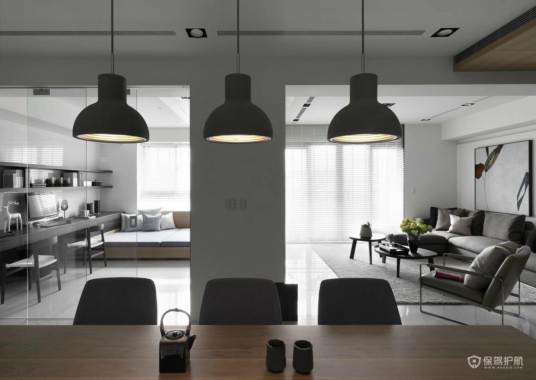 现代简约餐厅吊灯选购技巧,现代简约餐厅吊灯效果图