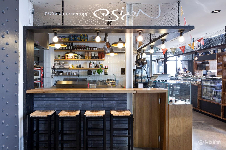 创意小吃店厨房设计效果图