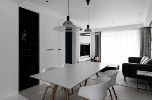 90㎡小三室装修改造成一居室?全屋不用吊顶和踢脚线,真是神仙改造