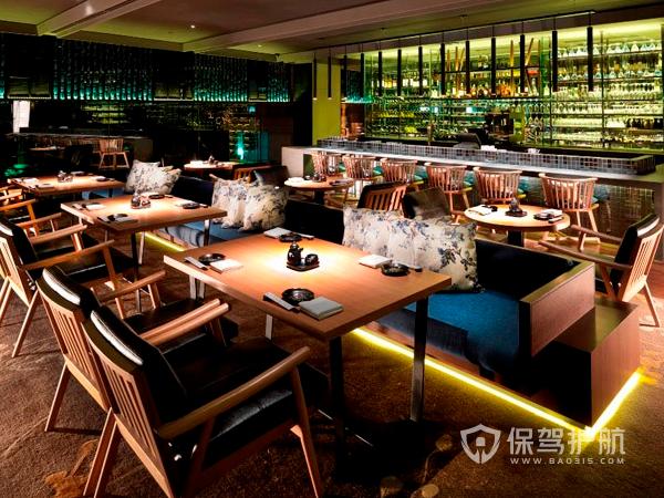 現代餐廳裝修設計效果圖