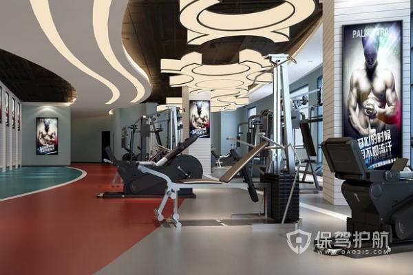 2019健身房怎么裝修?健身房裝修設計效果圖